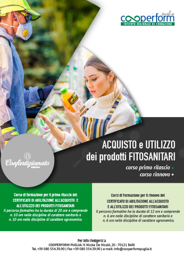 ACQUISTO e UTILIZZO dei prodotti FITOSANITARI