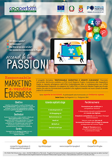 Responsabile MARKETING e vendite E-BUSINESS