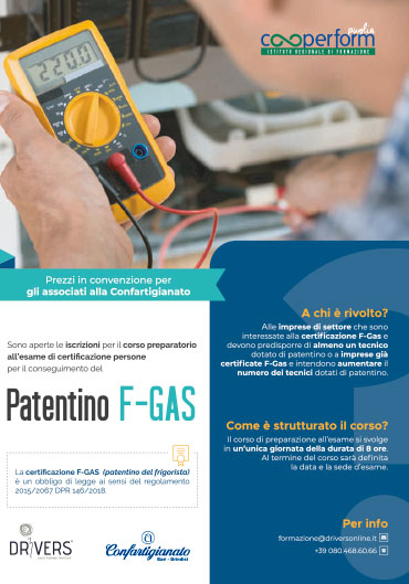 PATENTINO F-Gas